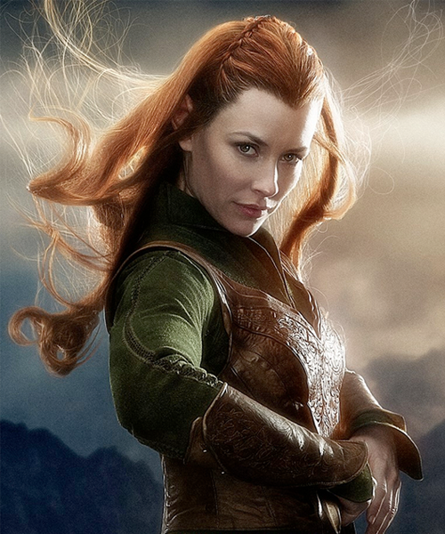 an image of Tauriel portrayed by Evangeline Lilly