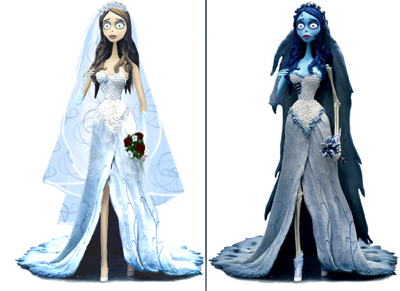 designs for the Corpse Bride