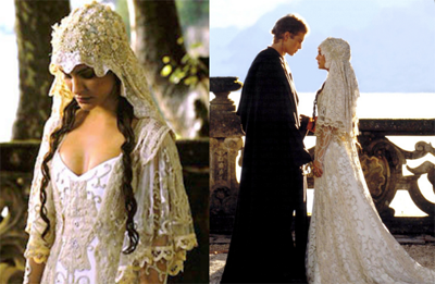 stills from Star Wars Attack of the Clones